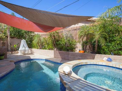Photo for NEW LISTING! Beautiful desert retreat w/mountain views, private pool/spa