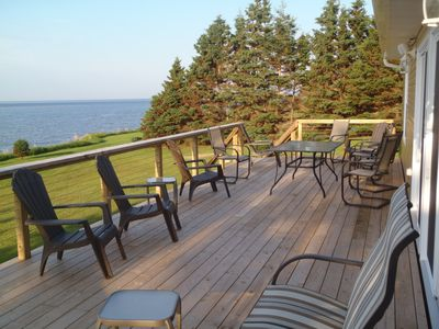 Huge deck for entertaining and lounging