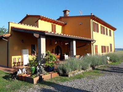 Photo for The Great Holistic Apartments and Pool- Pet Friendly Tuscany (PI) Italy