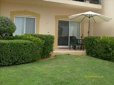 Photo for Ground Floor Apartment Overlooking Pool/Kids Paddling Area, 100m From 1st Tee