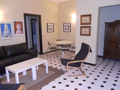 Photo for Comfortable furnished apartment in the historic center just 100 meters from the beach