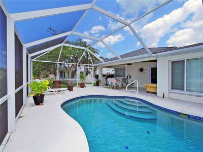 Photo for Palm Paradise, 3 Bedrooms, Sleeps 8, Canal View, Private Pool, Boat Dock