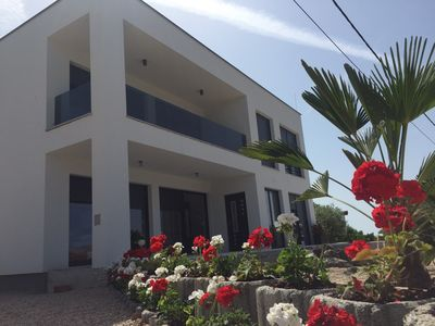Photo for Modern villa overlooking Cres Island
