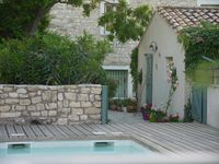 Very nice house in a small village in Southern France. Had everything we needed plus a private pool.