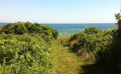 Photo for Twin Pond Ocean Front Cottage with Beach Pass