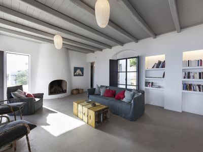 Photo for Architect house with fantastic sea view-like a mini-village