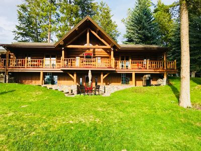 Recently voted top West Glacier Vacation Rental! Waterfront/Flathead River!  - Columbia Falls
