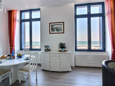 Photo for Saint  Malo fully renovated flat - amazing sea view