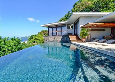 Crystal Clear Infinity Pool at Casa Puro Dieces