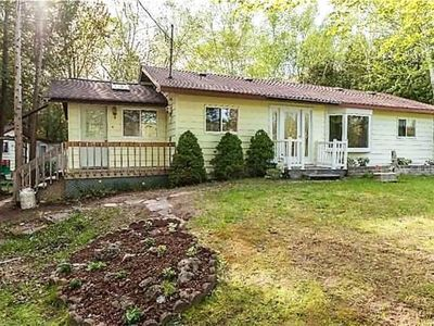 Photo for New Listing ! Three Bedroom Plus Bunkie on a quiet street only a short walk to the beach!