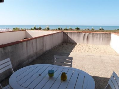 Photo for Maisonette with direct access to the beach near the city center