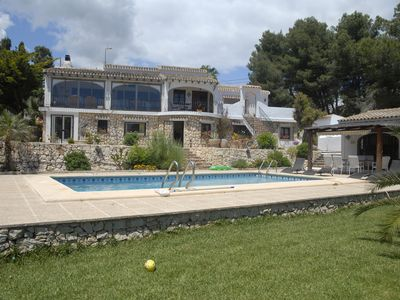 Photo for Detached Villa with Private Pool and Sea Views, and private parking