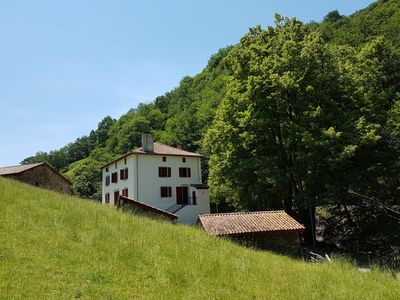 Photo for Basque traditional house in an exceptional setting
