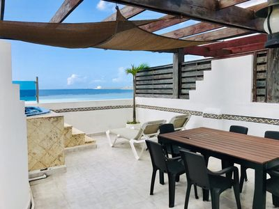 Photo for Beautiful Two Story Penthouse Next To The Beach
