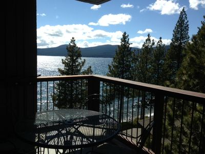 Photo for UPDATED BROCKWAY SPRINGS 3 BEDROOM, 2 BATH CONDO ON THE LAKE WITH VIEWS