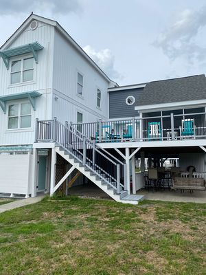 Photo for Newly renovated canal home, boat dock, arcade games