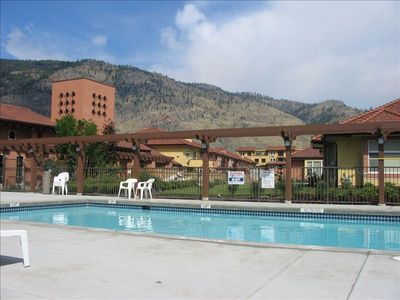 Pool and mountain view