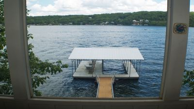 Photo for 2 BR / 2 BA Lake Front with Private Dock. BIG VIEW!