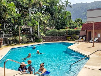 Photo for Makaha condo w/ shared pool, hot tub, & furnished balcony - one mile from beach