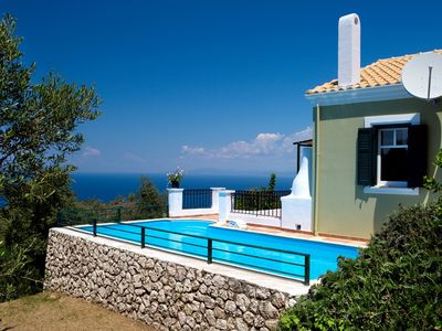 Photo for Excellent location, breathtaking sunsets, seaview at the Ionian sea with style !