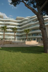 Photo for NEW LARGE APARTMENT. SEA FRONT AND SEA VIEW IN SECURE STAND RESIDENCE