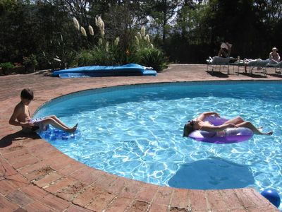 Kids Spend Hours in the Pool
