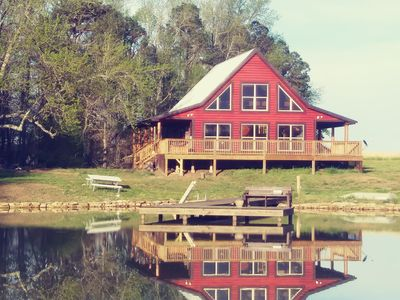 Photo for Cabin with private pond, quintessential vacation spot.