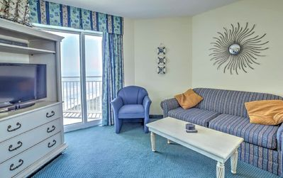 Photo for Beautiful Ocean View Condo on the 12th floor (1-BR & 1-Bath) with amazing view