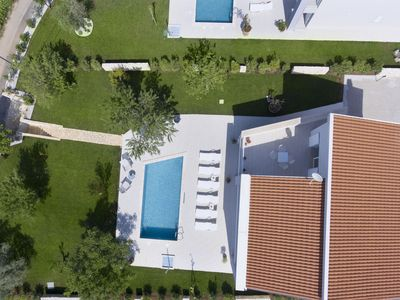 Photo for Modern villa with sea view, private pool and a fresh interior, beach at 5 km