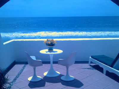 Photo for Beautiful 4 bedroom Ocean Front Villa