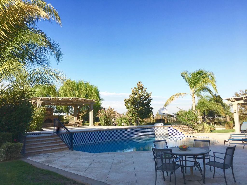 Private garden house with swimming pool riverside california rentals and for California private swimming pool code