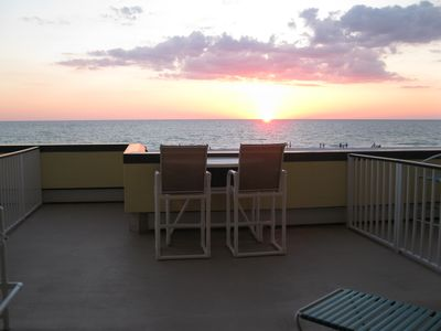 Photo for Unit 206: Beach Condo in Paradise: Huge Balcony, Spectacular Sunsets
