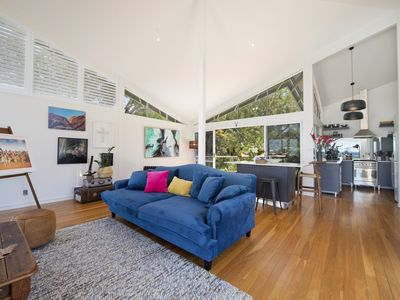 Photo for Arty Beach House - Exquisite home at Lighthouse Beach