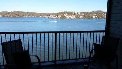 Gorgeous view of main channel from large screened deck