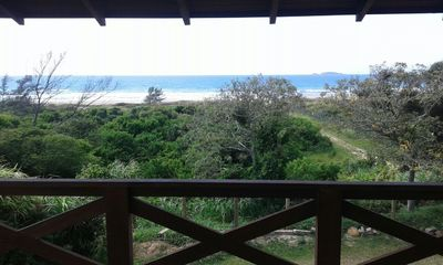 Photo for House on the edge at 150m from the beach, comfort, tranquility with nature