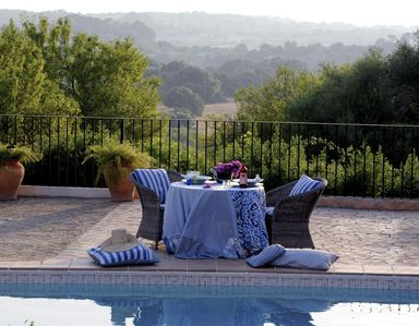 Photo for A large, light-flooded holiday domicile of a finca with pool