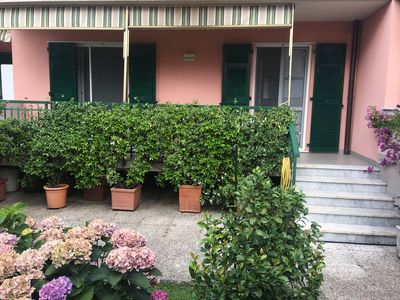 Photo for Apartment with garden in Sestri Levante