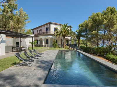 Photo for 6 bedroom colonial house in Sa Punta Begur Sea views pool and access to the beach (Ref:H36)