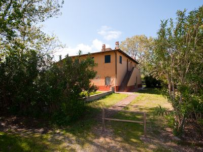 Photo for Apartment in an ancient Maremma farmhouse 250 meters from the Giannell beach