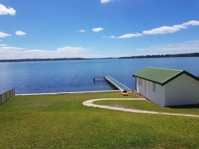 Photo for Spectacular views, super quiet, luxurious accommodation. Hit the water or chill