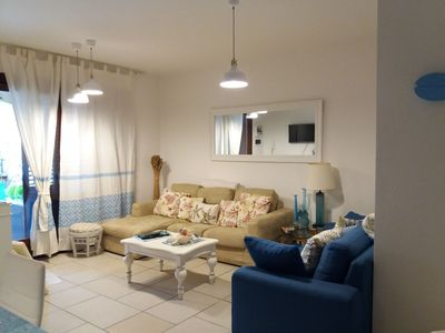Photo for Domus Caerula, apartment in the central area, spacious and comfortable