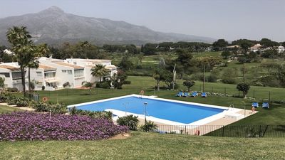Photo for Magnificent 2 bed 2 bath front line Golf 5 mins Puerto Banus and Marbella