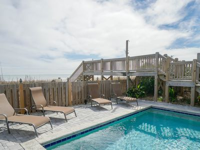 Photo for **FREE LINENS** ALL-INCLUSIVE RATES! Oceanfront, Private Pool, Pet Friendly