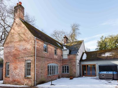 Photo for The Gate House is a handsome country house located on the Dean's Court Estate