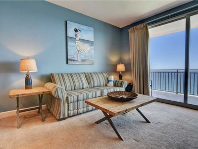 Photo for Beach Decor w/ Comfy Living & Updated Kitchen w/Gulf View, FREE Beach Service!