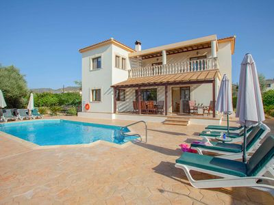 Photo for Villa Styliani- Spacious Villa includes, a private pool, WI -FI & games consoles