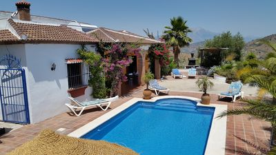 Photo for REDUCTION 500 euros!! April 13-21 May  Private villa with pool, sleeps 10 guests
