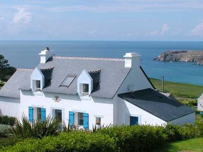 Photo for Holiday house with panorama view of the sea and the coast