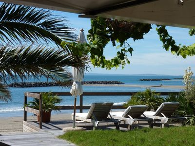 Photo for House on the Beach, Superb Panoramic Sea View, Cap d'Agde