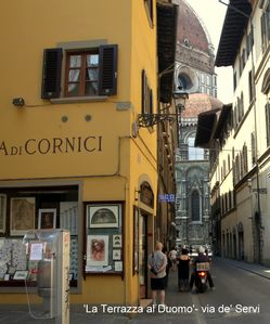 Photo for 'The Terrace to the Cathedral', apartment in the center of Florence with a large terrace